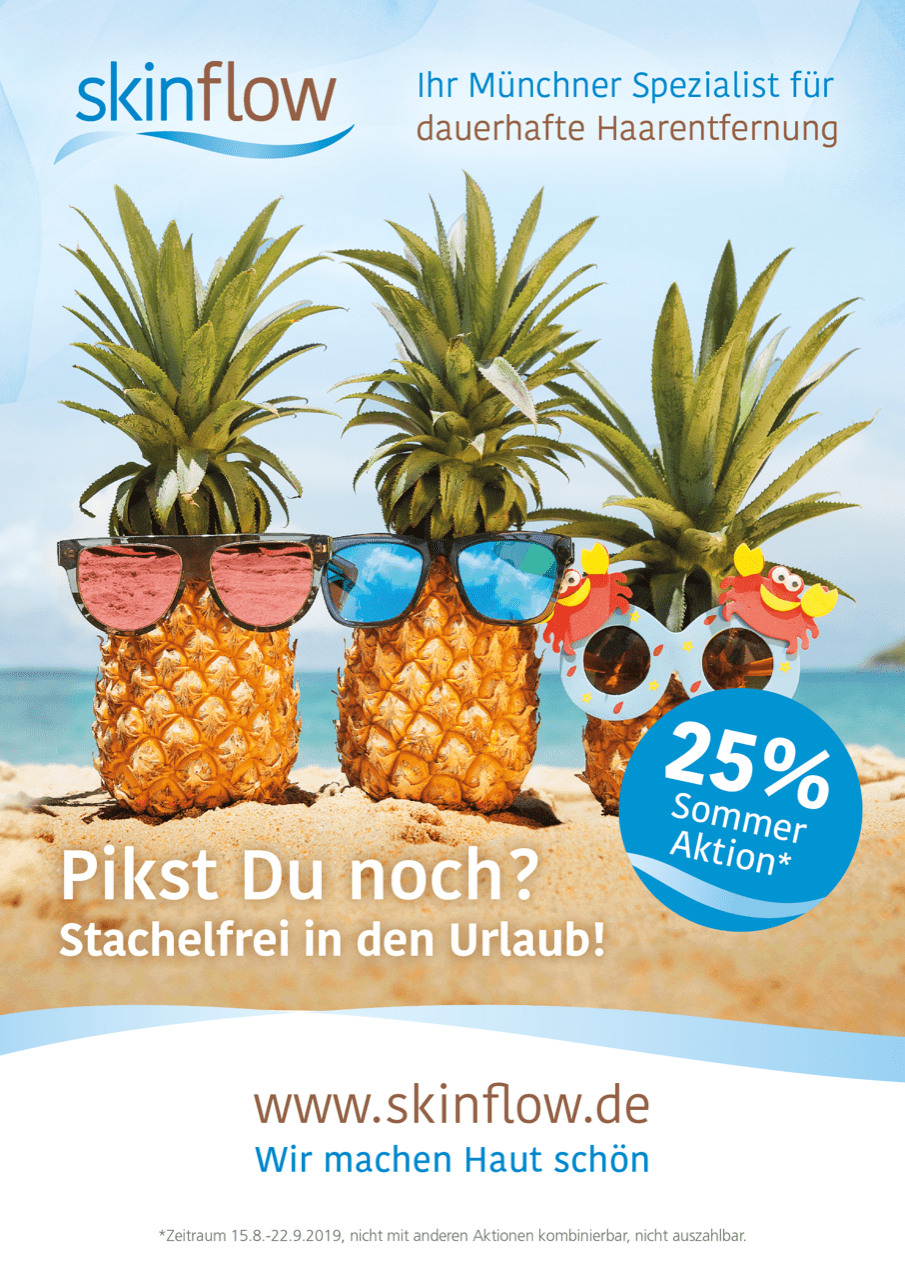 Skinflow A1 Sommeraktion ANANAS2019 2
